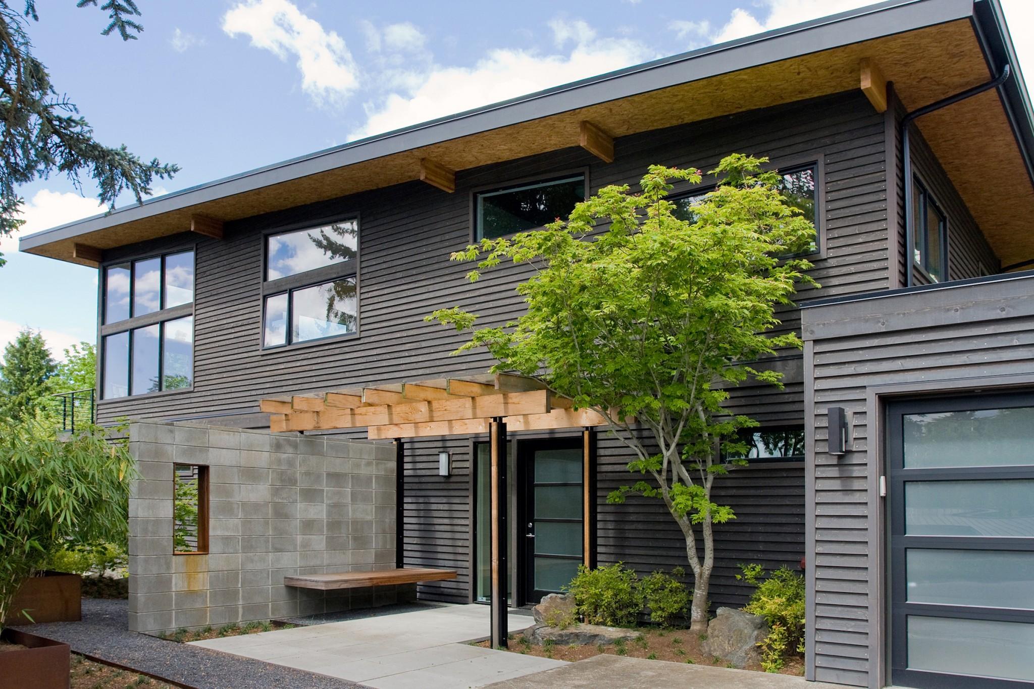 Mercer Island Contemporary Home - Exterior