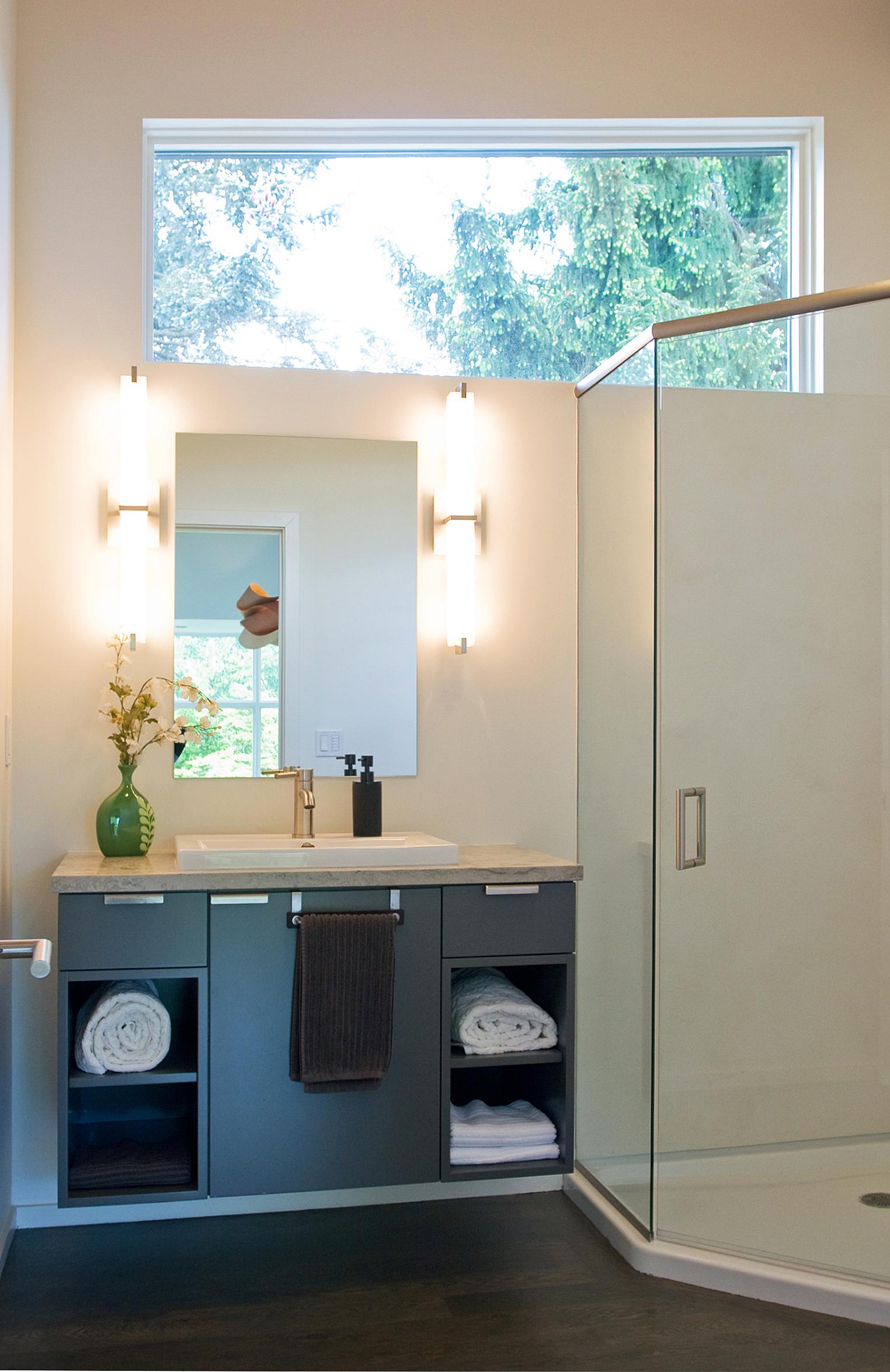 Mercer Island Contemporary Home - Bathroom