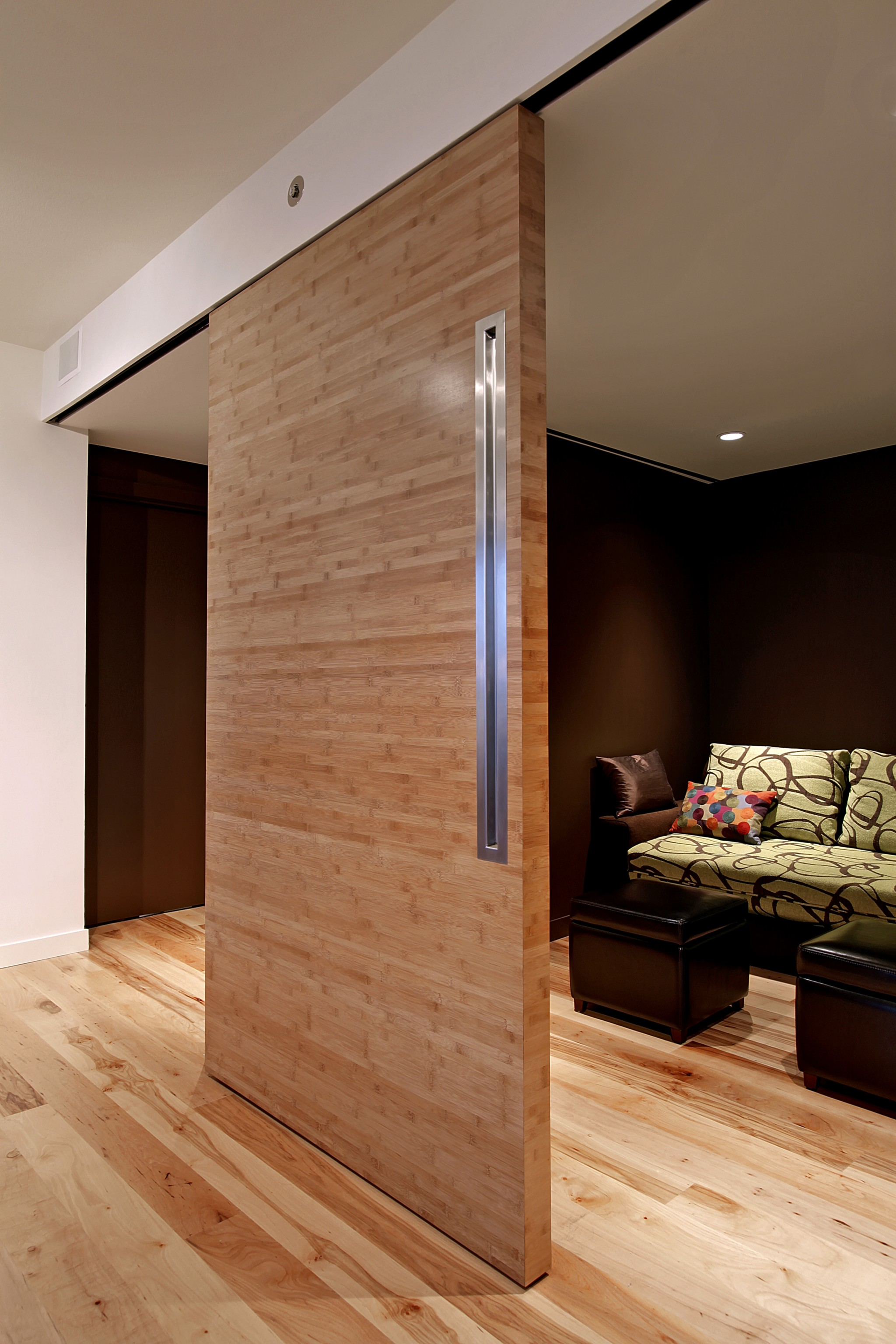 Seattle Heights Condominium - Sliding Door