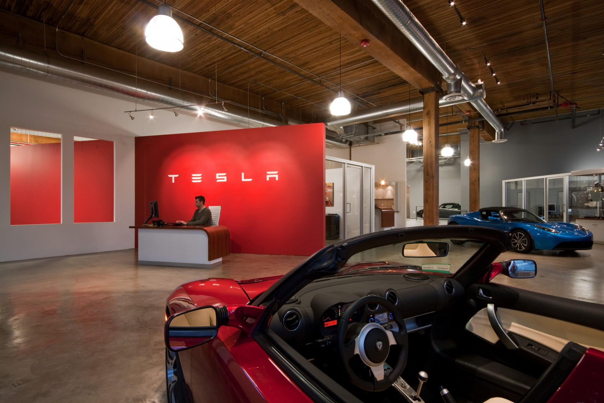 Tesla Showroom - Interior 3