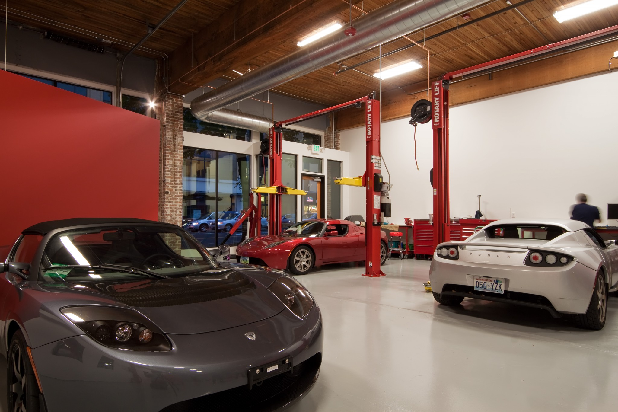 Tesla Showroom - Interior 2