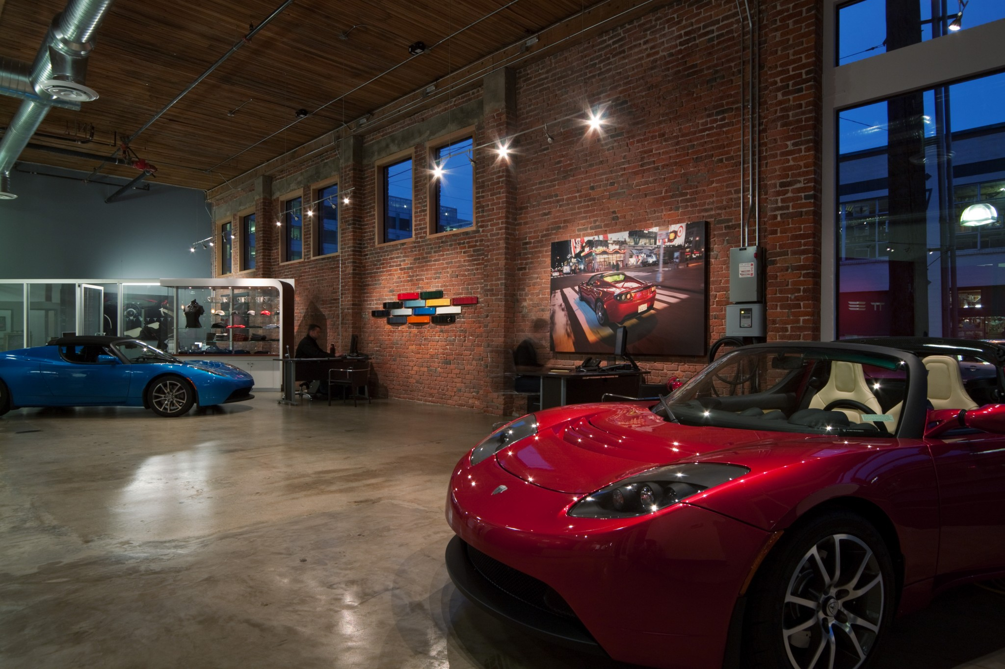 Tesla Showroom - Interior 4