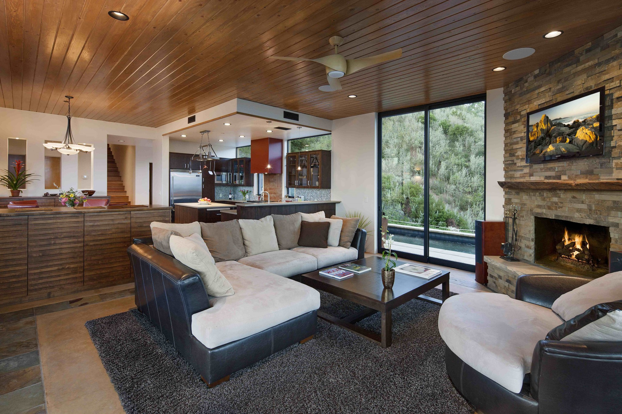 Santa Barbara Residence - Living Area 2