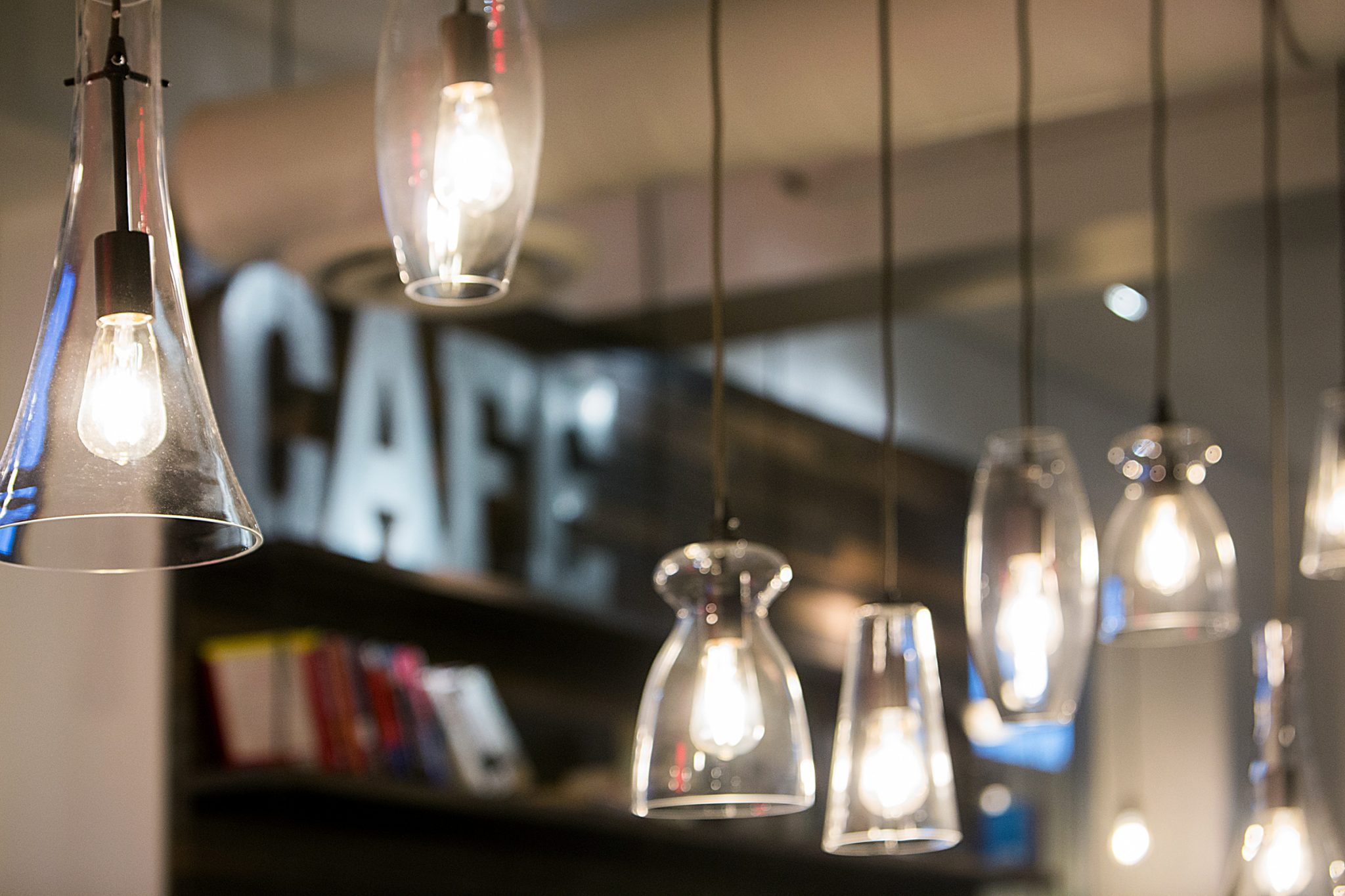 Post Alley Cafe - Lighting 1