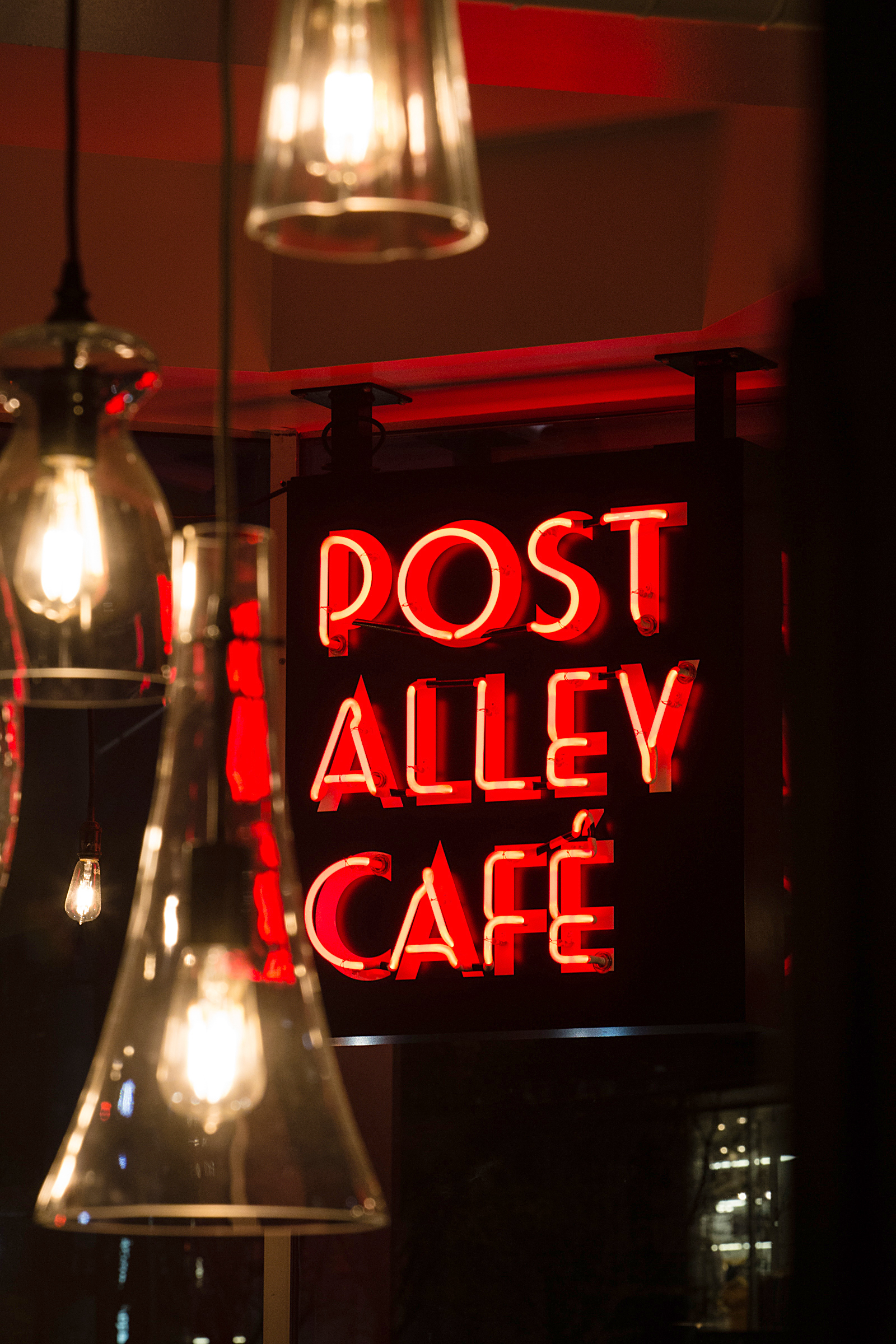 Post Alley Cafe - Marquee