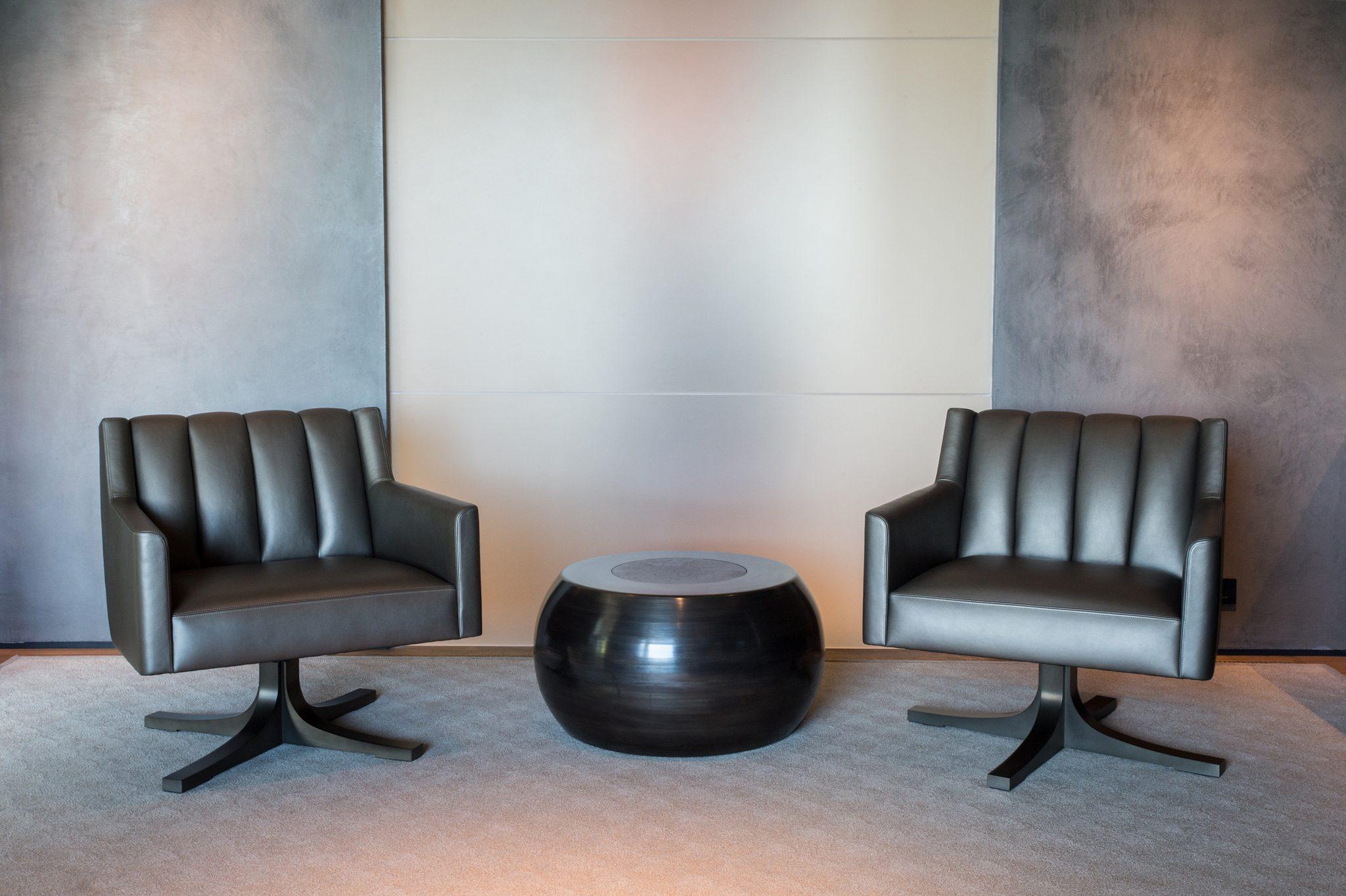 Mercer Island Custom Contemporary - Seating Area