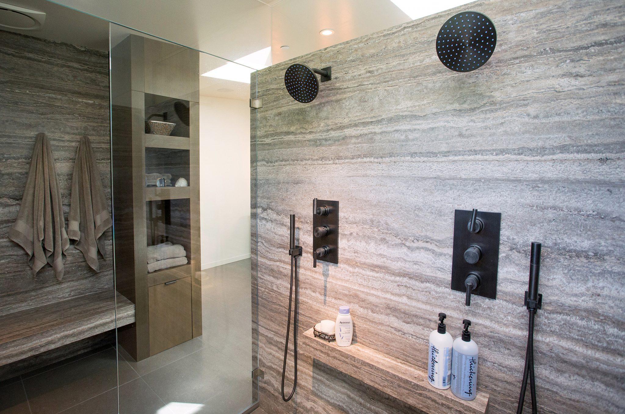 Mercer Island Custom Contemporary - Bathroom 2