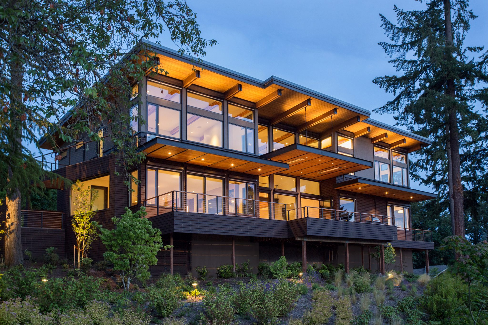 Mercer Island Custom Contemporary - Exterior 1