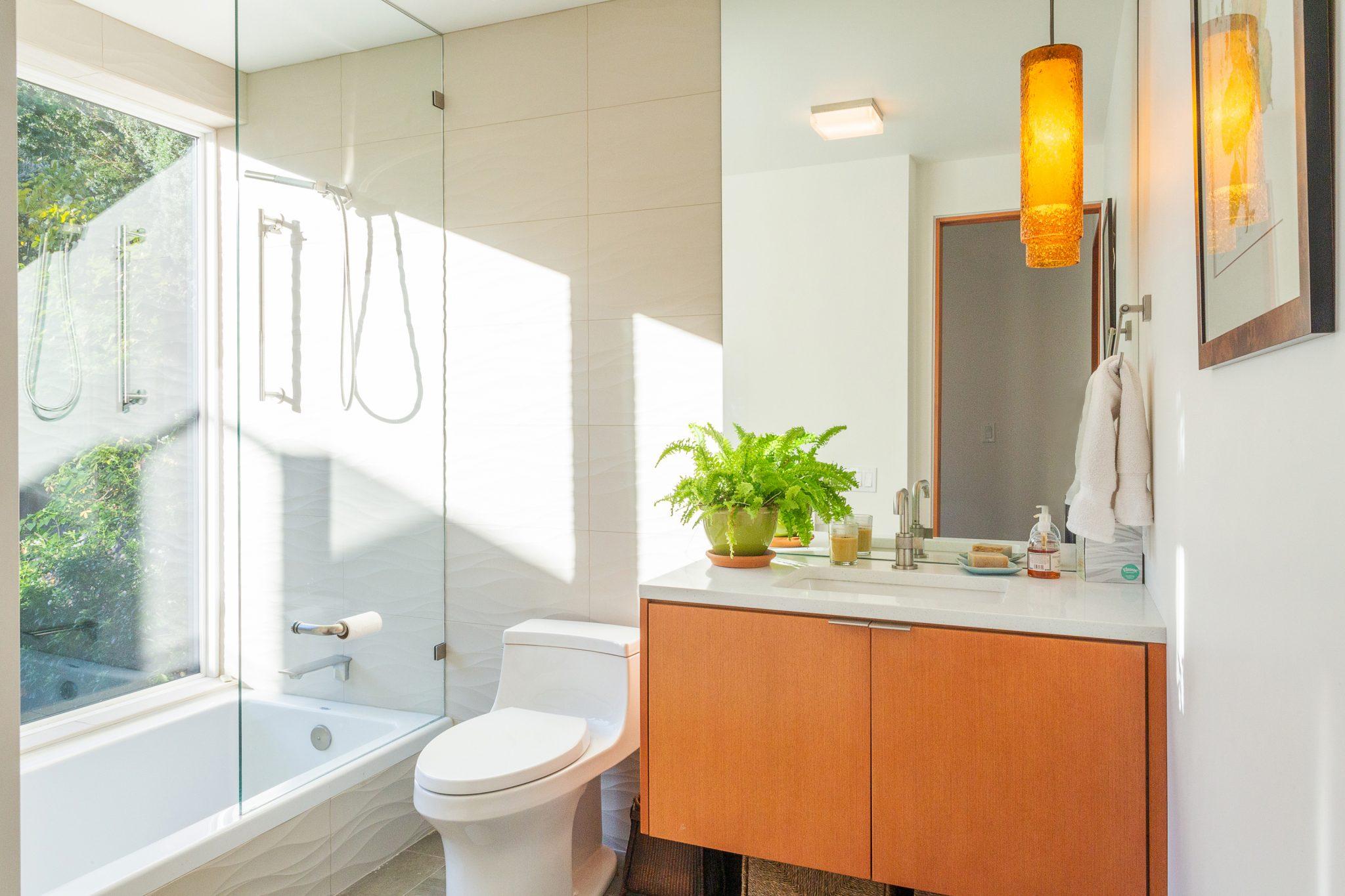 View Ridge Northwest Contemporary - Bathroom