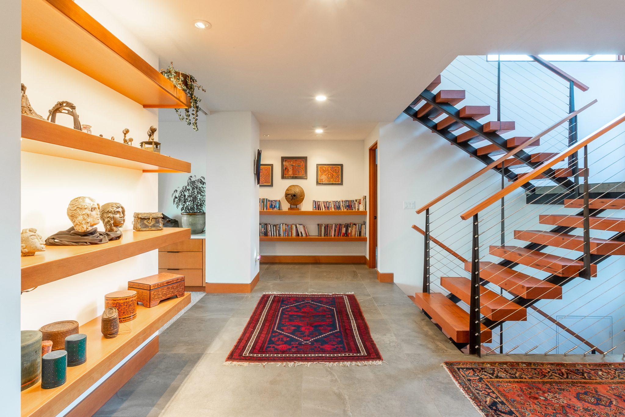 View Ridge Northwest Contemporary - Entry