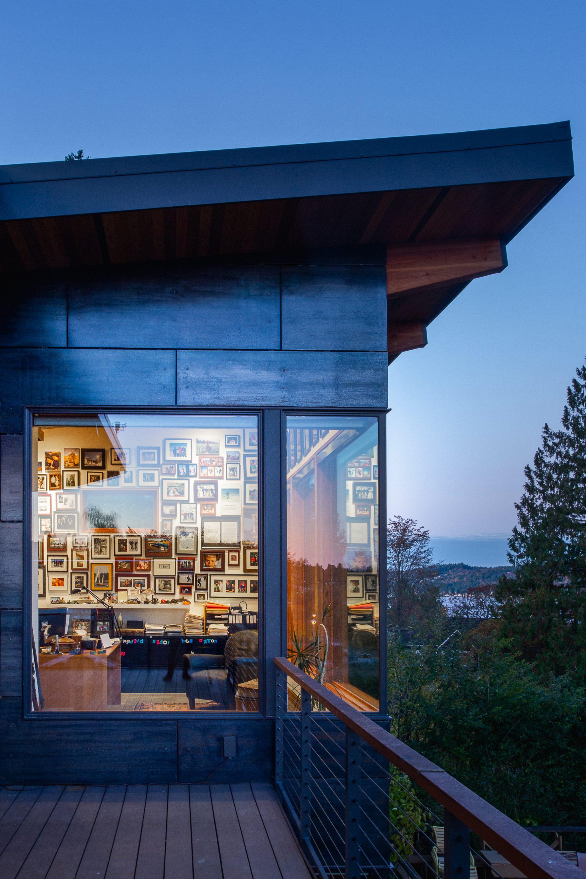 View Ridge Northwest Contemporary - Exterior 3