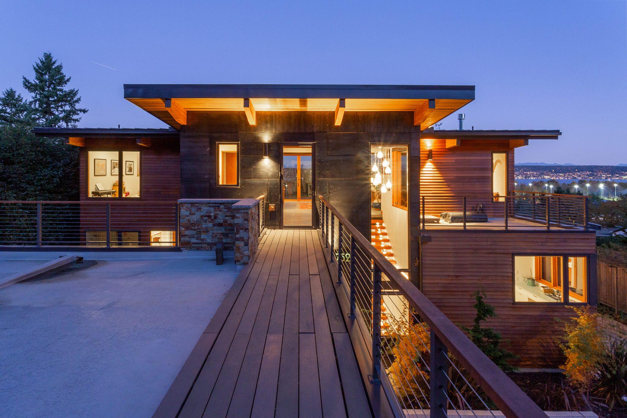 View Ridge Northwest Contemporary - Exterior 1